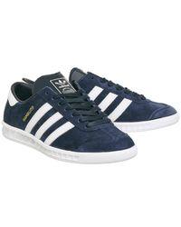 Adidas - Blue Hamburg Te N for Men - Lyst
