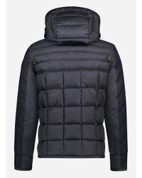 Moncler Slim-fit Donsjacket 'ryan' Donkerblauw in het Blue voor heren