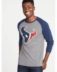 05fc7f9bc Lyst - Old Navy Nfl® Graphic Raglan Tee in Gray for Men