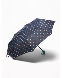 Old Navy Blue Printed Umbrella
