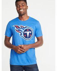 Old Navy - Blue Nfl® Team-logo Tee for Men - Lyst