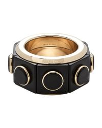 Roberto Cavalli - Multicolor Wood Bracelet - Lyst