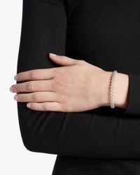 Roberto Coin Metallic Single Row Diamond Bangle Bracelet Diamonds