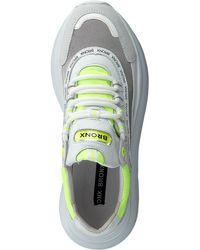 Bronx Witte Sneakers Grayson in het White