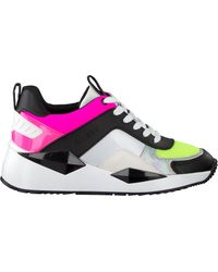 Guess Multi Lage Sneakers Typical in het Multicolor