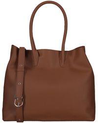 Matt & Nat Brown Orangene Handtasche Krista Satchel