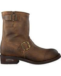Sendra Brown Braune Biker Boots 12399