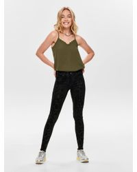 ONLY Black Onlblush Mid Ankle Skinny Fit Jeans