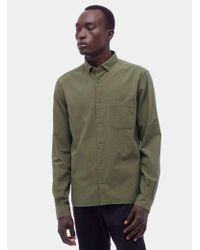 YMC | Green Jan And Dean Shirt for Men | Lyst