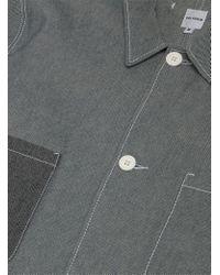 Paladrin Gray Green / Blue Briggs Jacket for men
