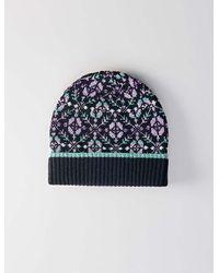Maje Black Wool Cap