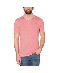 Original Penguin - Pink Linen Daddy Polo 2.0 for Men - Lyst