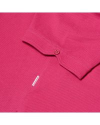 Orlebar Brown - Pink Sebastian Körperbetont Geschnittenes Pikee-polo In Paradise for Men - Lyst