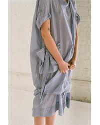 Bernhard Willhelm | Dress In Surf Blue | Lyst