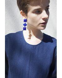 Jessica Winzelberg | Blue Lapis Earring | Lyst