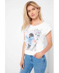 ORSAY White T-Shirt mit Print