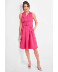 ORSAY Pink Kleid mit Gürtel