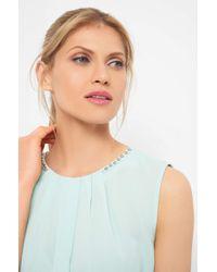 ORSAY Blue Shirt mit Zierfalten
