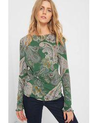 ORSAY Green Shirt mit Paisley-Muster
