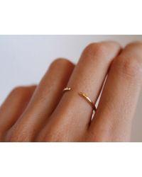 Lumo | Metallic 14k Cuff Ring | Lyst