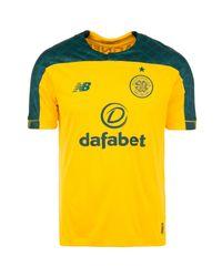 New Balance Fußballtrikot »Celtic Glasgow 19/20 Auswärts« in Yellow für Herren