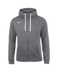 Nike Trainingsjacke »Full Zip Flc Club19« in Gray für Herren