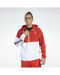 Reebok Trainingsjacke »Training Essentials Windbreaker« in Red für Herren