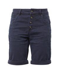 Tom Tailor Denim Blue Bermudas »Lina Bermuda Shorts«