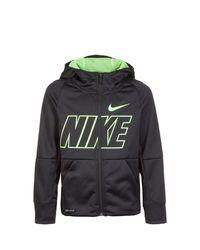 Nike Trainingsjacke »Therma Gfx« in Black für Herren