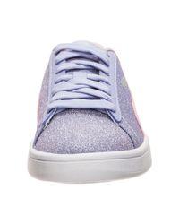 PUMA Blue »Smash V2 Glitz Glam« Sneaker