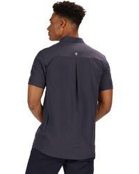 Regatta T-Shirt »Kioga SS Shirt Herren« in Gray für Herren