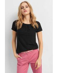 ORSAY Black T-Shirt mit Rundhalsausschnitt