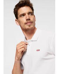 Levi's Poloshirt Piqué-Qualität in White für Herren