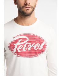 Petrol Industries Sweatshirt in White für Herren