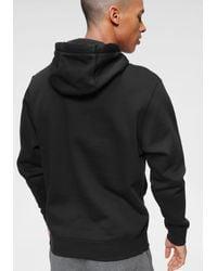 Nike Kapuzensweatshirt in Black für Herren