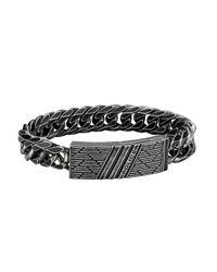 Police Armband »PARKCHESTER, PJ26287BSE.02-L« in Black für Herren