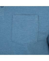 Under Armour Poloshirt »Charged Cotton Scramble« in Blue für Herren