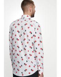 Seidensticker Businesshemd »Regular« Regular Langarm Kentkragen Floraler Print in Multicolor für Herren