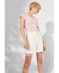 Edc By Esprit Multicolor Wickel-Shirt mit Organic Cotton, 100% Baumwolle