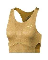 PUMA Multicolor T-Shirt »Damen Crop Top«