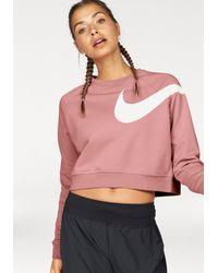 Nike Pink Sweatshirt »WOMEN TOP LONGSLEEVE VERSA LOGO GPX«