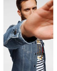 Tommy Hilfiger Jeansjacke »TRUCKER TYP3 STR EAST BLUE« für Herren