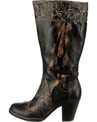 LAURA VITA Black »Ancgelinao50 Klassische Stiefel« Stiefel