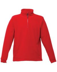 Regatta Fleecepullover »Herren Thor Fleece Top« in Red für Herren