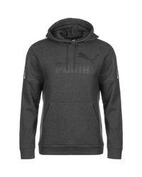 PUMA Kapuzenpullover »Amplified Fleece« in Gray für Herren