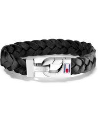 Tommy Hilfiger Armband »2700872, Men ́s Casual« mit Emaille in Black für Herren