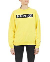 Replay Yellow Sweatshirt