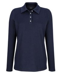 Paola Blue Poloshirt aus weichem Material
