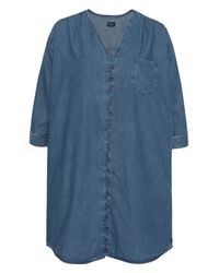 Pepe Jeans Blue Jeansbluse »MILOU« in cooler Waschung