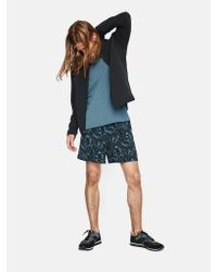 Outdoor Voices - Blue Printed Runner's High Shorts for Men - Lyst